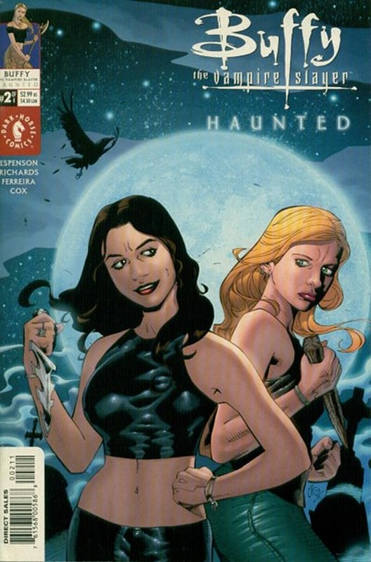 Cover of Buffy the Vampire Slayer: Haunted (2001 Ltd) #2. One of 250,000 Vintage American Comics on sale from Krypton!