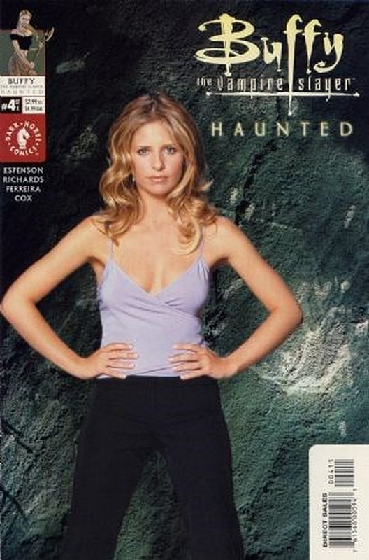 Cover of Buffy the Vampire Slayer: Haunted (2001 Ltd) #4. One of 250,000 Vintage American Comics on sale from Krypton!
