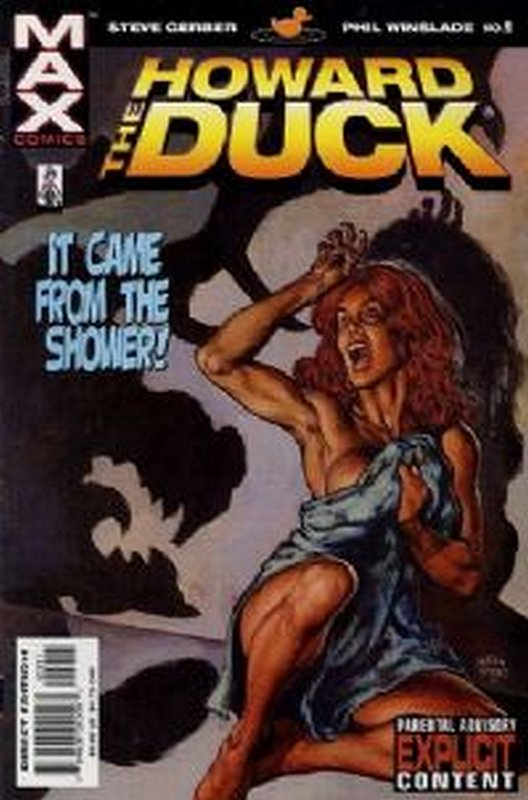 Cover of Howard The Duck (2002 Ltd) #2. One of 250,000 Vintage American Comics on sale from Krypton!