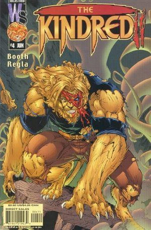 Cover of Kindred (2002 Ltd) #4. One of 250,000 Vintage American Comics on sale from Krypton!