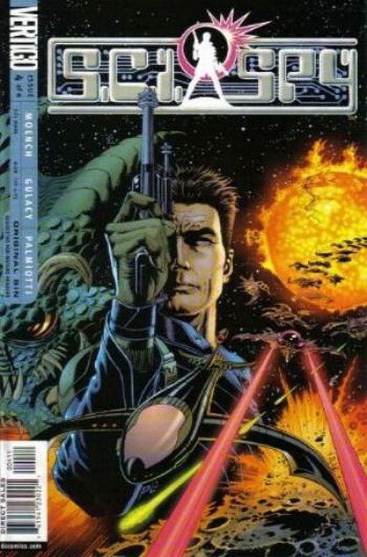 Cover of Sci Spy (2002 Ltd) #4. One of 250,000 Vintage American Comics on sale from Krypton!