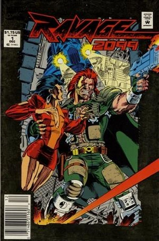Cover of Ravage 2099 (Vol 1) #1. One of 250,000 Vintage American Comics on sale from Krypton!