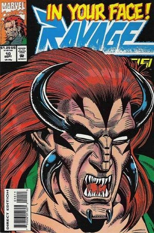 Cover of Ravage 2099 (Vol 1) #10. One of 250,000 Vintage American Comics on sale from Krypton!