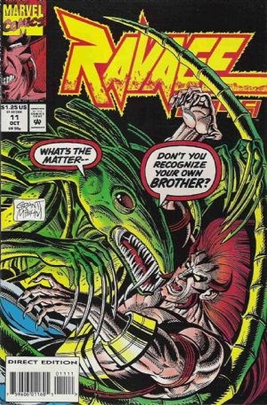 Cover of Ravage 2099 (Vol 1) #11. One of 250,000 Vintage American Comics on sale from Krypton!