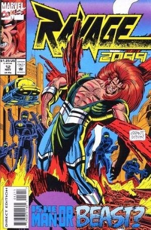 Cover of Ravage 2099 (Vol 1) #12. One of 250,000 Vintage American Comics on sale from Krypton!