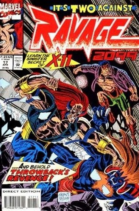 Cover of Ravage 2099 (Vol 1) #17. One of 250,000 Vintage American Comics on sale from Krypton!