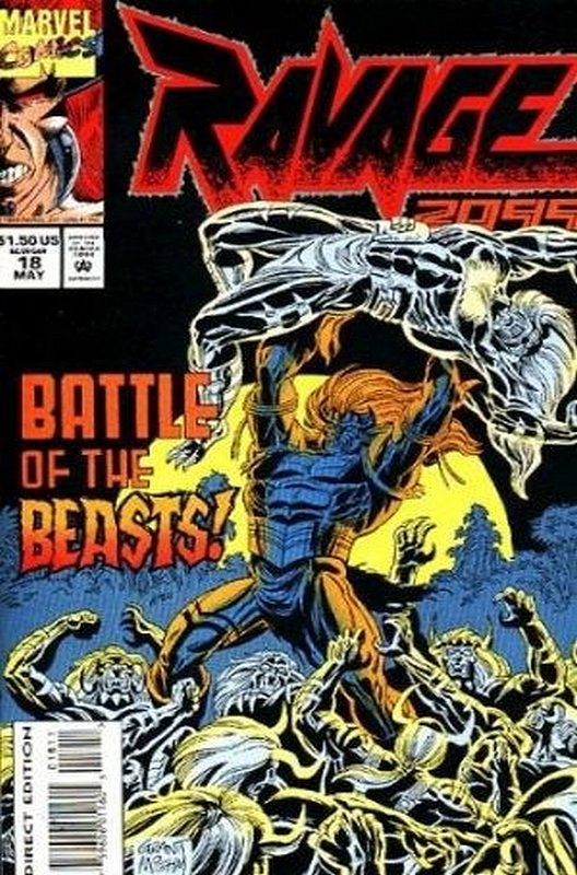 Cover of Ravage 2099 (Vol 1) #18. One of 250,000 Vintage American Comics on sale from Krypton!