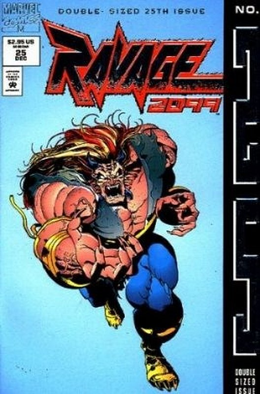 Cover of Ravage 2099 (Vol 1) #25. One of 250,000 Vintage American Comics on sale from Krypton!