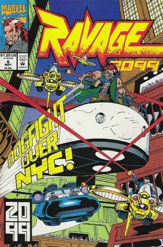 Cover of Ravage 2099 (Vol 1) #6. One of 250,000 Vintage American Comics on sale from Krypton!