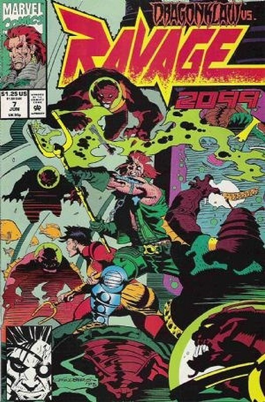 Cover of Ravage 2099 (Vol 1) #7. One of 250,000 Vintage American Comics on sale from Krypton!
