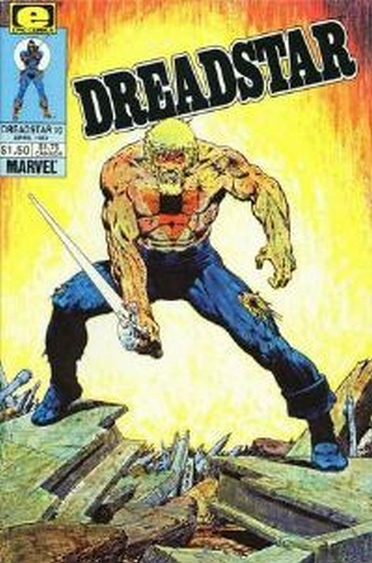 Cover of Dreadstar (Vol 1) #10. One of 250,000 Vintage American Comics on sale from Krypton!