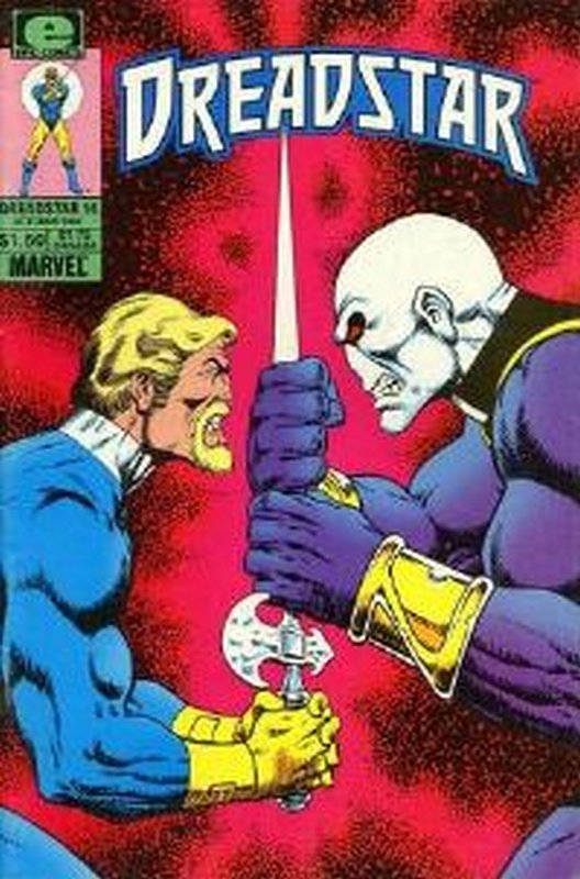 Cover of Dreadstar (Vol 1) #14. One of 250,000 Vintage American Comics on sale from Krypton!