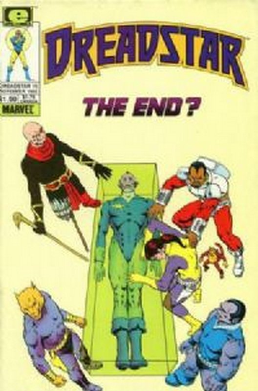 Cover of Dreadstar (Vol 1) #15. One of 250,000 Vintage American Comics on sale from Krypton!