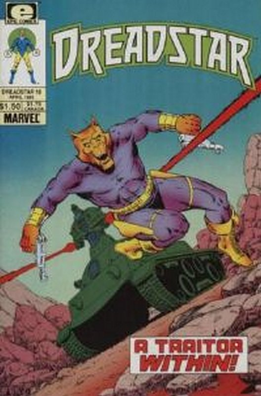 Cover of Dreadstar (Vol 1) #18. One of 250,000 Vintage American Comics on sale from Krypton!