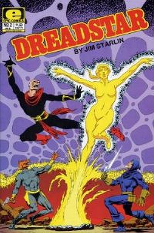 Cover of Dreadstar (Vol 1) #2. One of 250,000 Vintage American Comics on sale from Krypton!