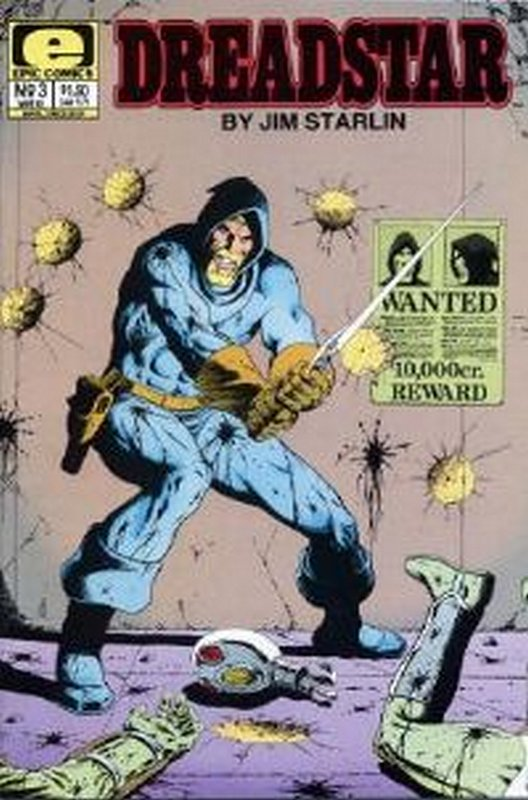 Cover of Dreadstar (Vol 1) #3. One of 250,000 Vintage American Comics on sale from Krypton!