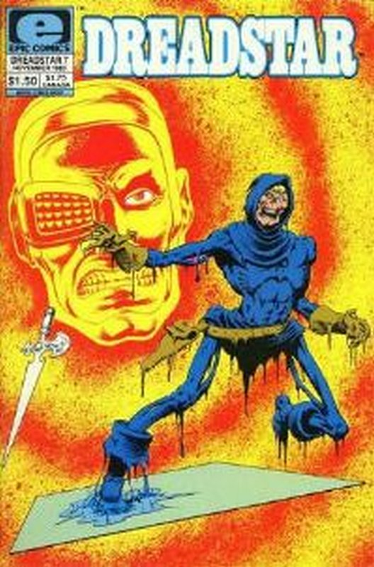 Cover of Dreadstar (Vol 1) #7. One of 250,000 Vintage American Comics on sale from Krypton!