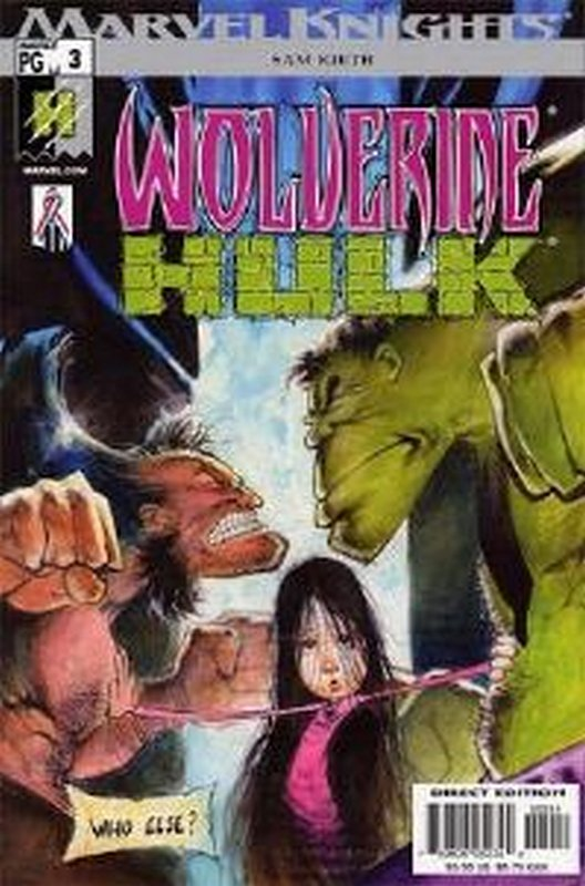 Cover of Wolverine/Hulk (2002 Ltd) #3. One of 250,000 Vintage American Comics on sale from Krypton!