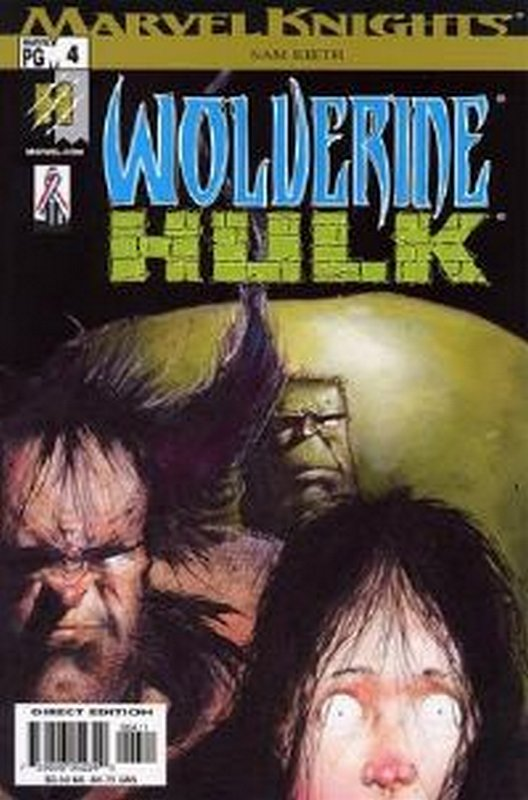 Cover of Wolverine/Hulk (2002 Ltd) #4. One of 250,000 Vintage American Comics on sale from Krypton!