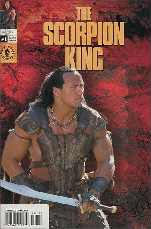 Cover of Scorpion King (2002 Ltd) #1. One of 250,000 Vintage American Comics on sale from Krypton!