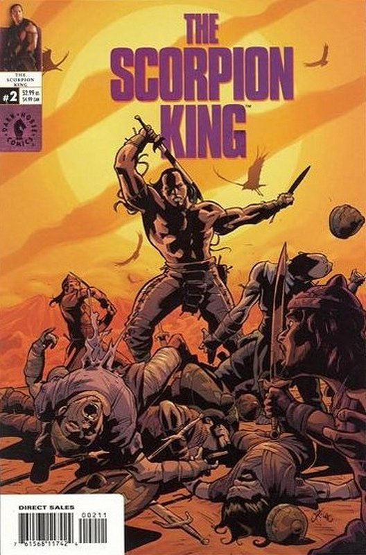 Cover of Scorpion King (2002 Ltd) #2. One of 250,000 Vintage American Comics on sale from Krypton!