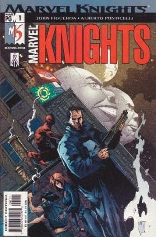 Cover of Marvel Knights (Vol 2) #1. One of 250,000 Vintage American Comics on sale from Krypton!