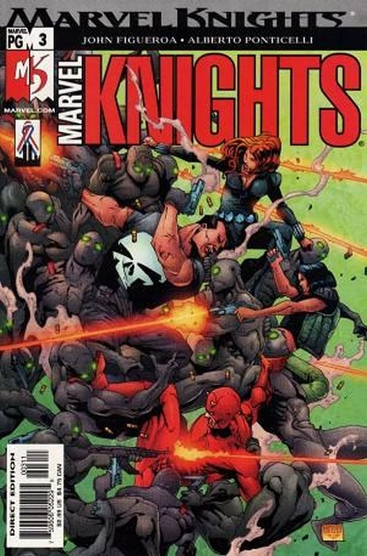 Cover of Marvel Knights (Vol 2) #3. One of 250,000 Vintage American Comics on sale from Krypton!