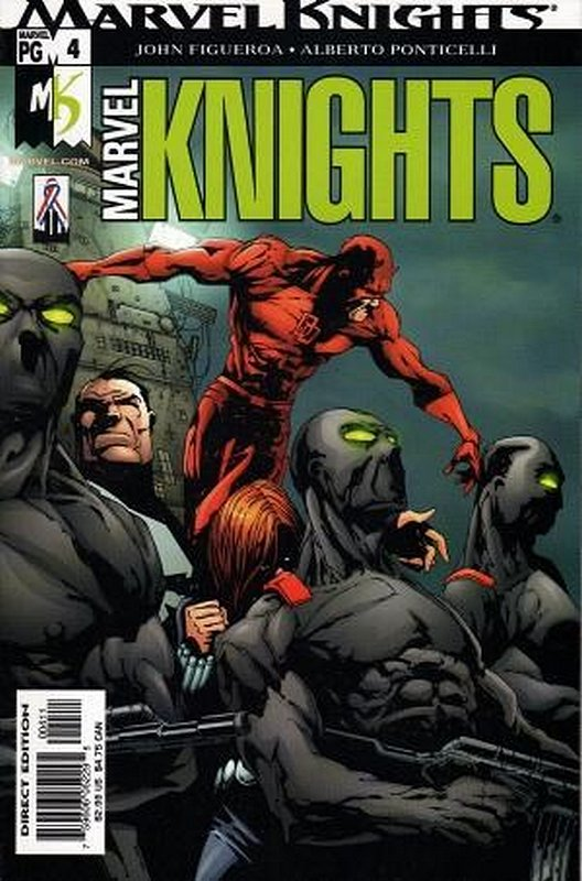 Cover of Marvel Knights (Vol 2) #4. One of 250,000 Vintage American Comics on sale from Krypton!