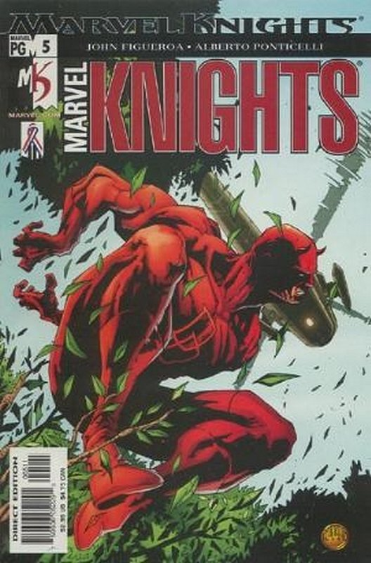 Cover of Marvel Knights (Vol 2) #5. One of 250,000 Vintage American Comics on sale from Krypton!