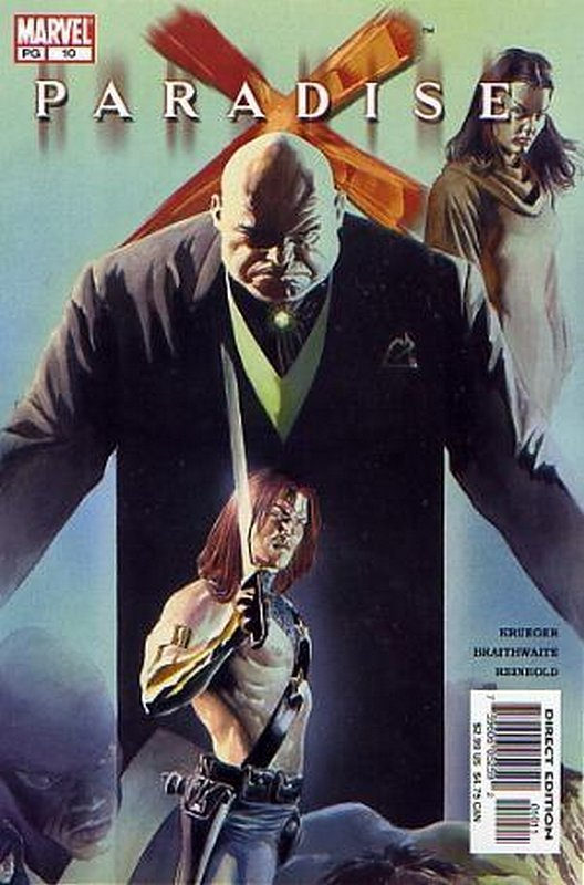 Cover of Paradise X (2002 Ltd) #10. One of 250,000 Vintage American Comics on sale from Krypton!