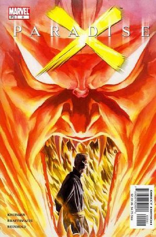Cover of Paradise X (2002 Ltd) #8. One of 250,000 Vintage American Comics on sale from Krypton!