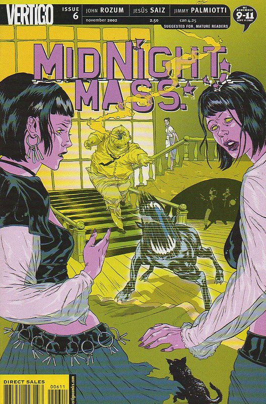 Cover of Midnight Mass (2002 Ltd) #6. One of 250,000 Vintage American Comics on sale from Krypton!