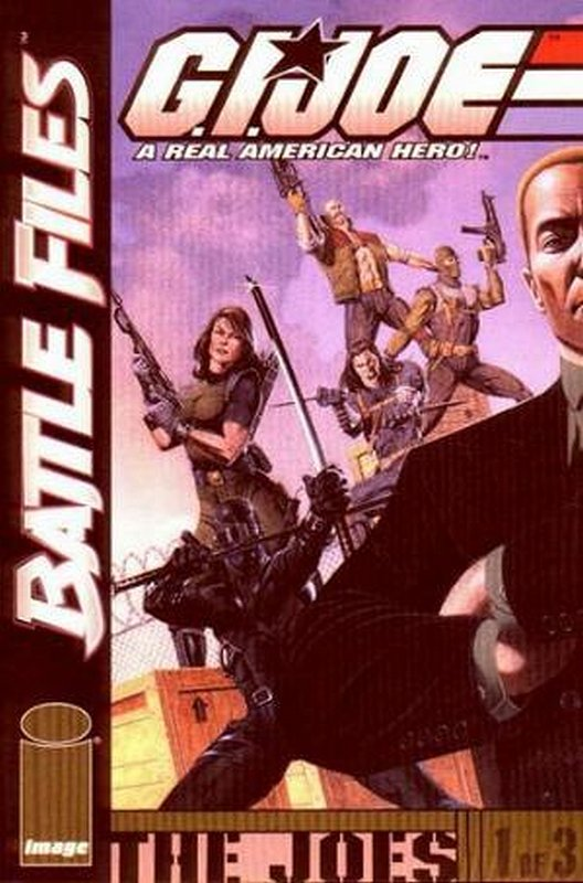 Cover of GI Joe: Battle Files (2002 Ltd) #1. One of 250,000 Vintage American Comics on sale from Krypton!