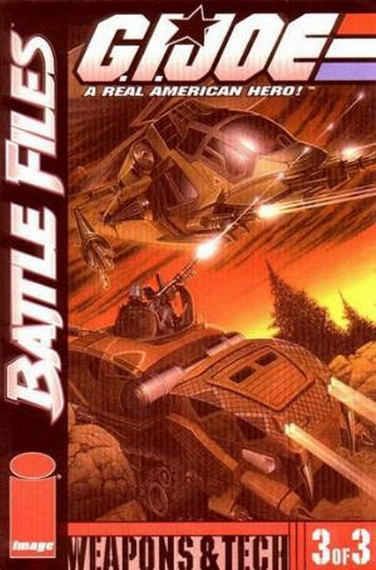 Cover of GI Joe: Battle Files (2002 Ltd) #3. One of 250,000 Vintage American Comics on sale from Krypton!