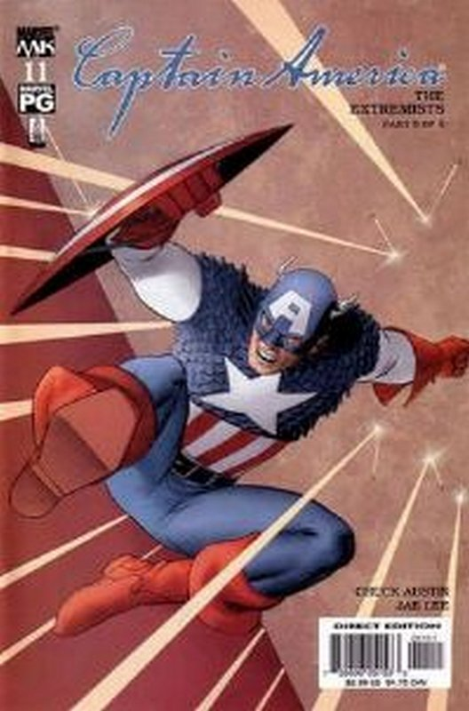 Cover of Captain America (Vol 4) #11. One of 250,000 Vintage American Comics on sale from Krypton!