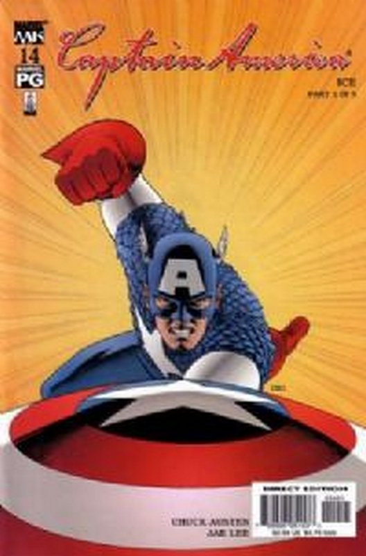 Cover of Captain America (Vol 4) #14. One of 250,000 Vintage American Comics on sale from Krypton!
