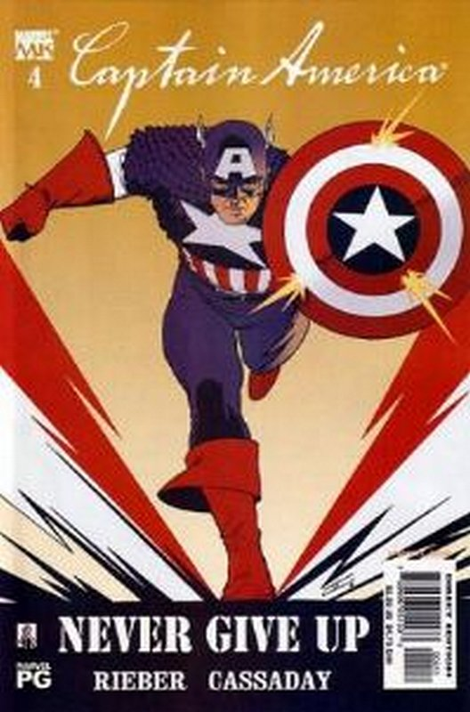 Cover of Captain America (Vol 4) #4. One of 250,000 Vintage American Comics on sale from Krypton!