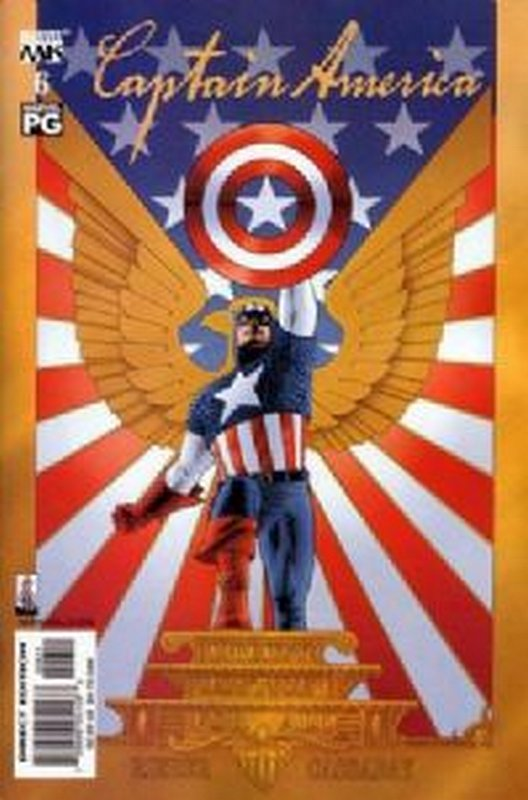 Cover of Captain America (Vol 4) #6. One of 250,000 Vintage American Comics on sale from Krypton!
