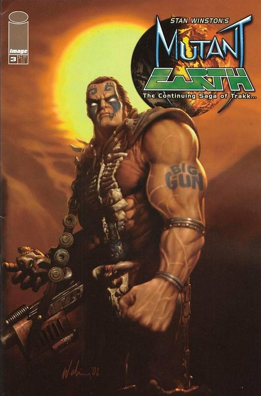 Cover of Mutant Earth (2002 Ltd) #3. One of 250,000 Vintage American Comics on sale from Krypton!