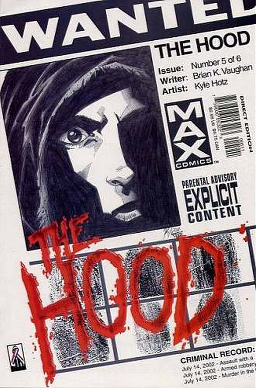 Cover of Hood (2002 Ltd) The #5. One of 250,000 Vintage American Comics on sale from Krypton!
