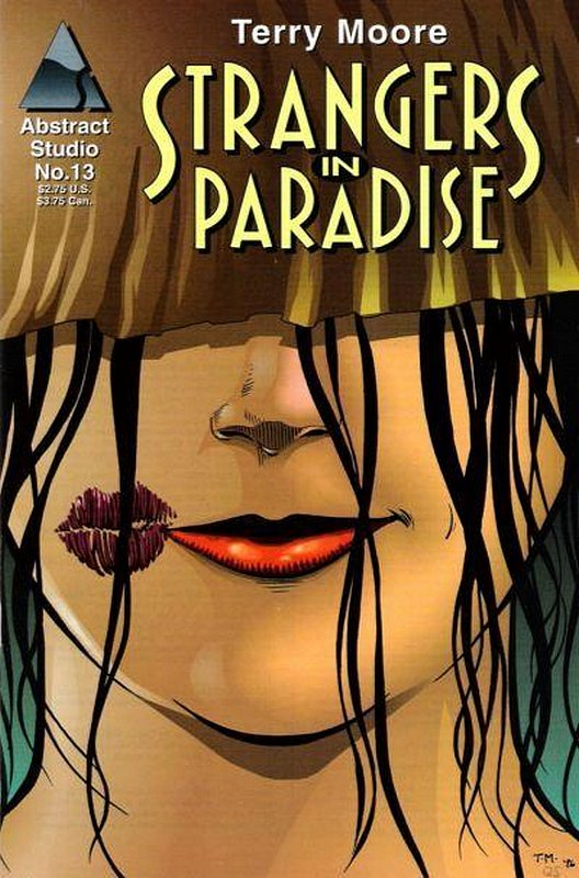 Cover of Strangers in Paradise (Vol 2) #13. One of 250,000 Vintage American Comics on sale from Krypton!