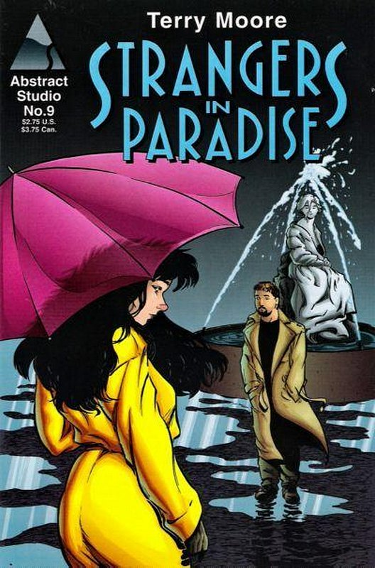 Cover of Strangers in Paradise (Vol 2) #9. One of 250,000 Vintage American Comics on sale from Krypton!