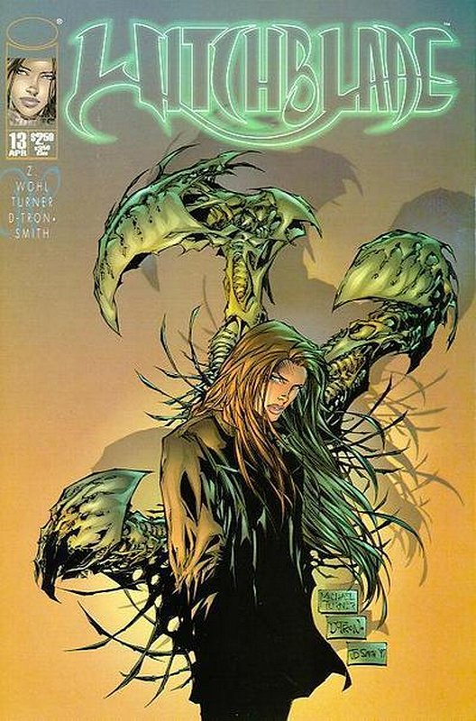 Cover of Witchblade (Vol 1) #13. One of 250,000 Vintage American Comics on sale from Krypton!
