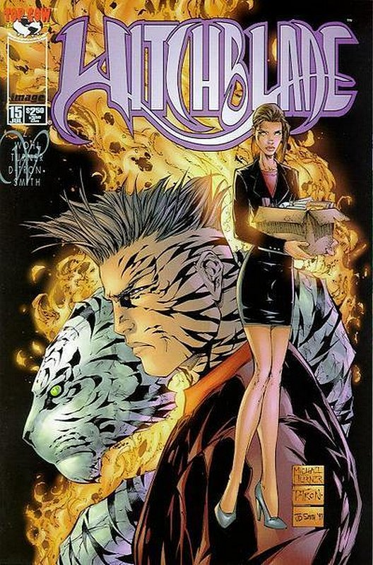 Cover of Witchblade (Vol 1) #15. One of 250,000 Vintage American Comics on sale from Krypton!