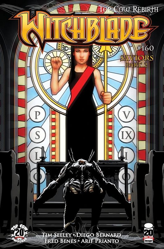 Cover of Witchblade (Vol 1) #160. One of 250,000 Vintage American Comics on sale from Krypton!