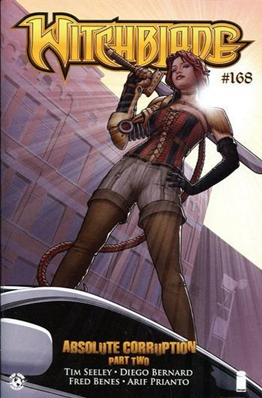 Cover of Witchblade (Vol 1) #168. One of 250,000 Vintage American Comics on sale from Krypton!