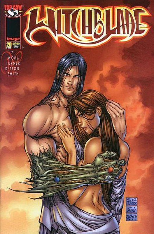 Cover of Witchblade (Vol 1) #20. One of 250,000 Vintage American Comics on sale from Krypton!