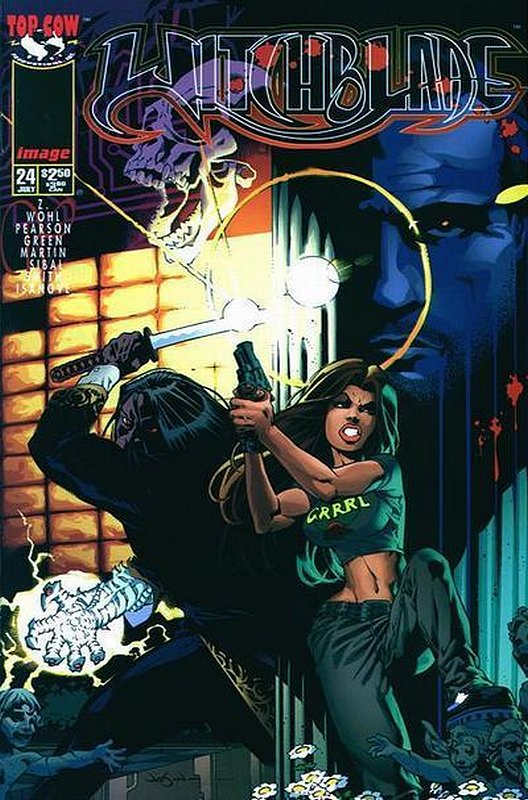 Cover of Witchblade (Vol 1) #24. One of 250,000 Vintage American Comics on sale from Krypton!