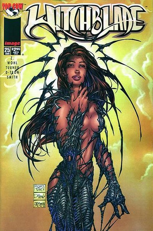 Cover of Witchblade (Vol 1) #25. One of 250,000 Vintage American Comics on sale from Krypton!