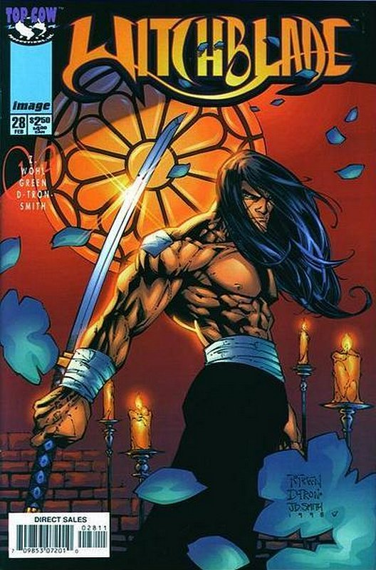 Cover of Witchblade (Vol 1) #28. One of 250,000 Vintage American Comics on sale from Krypton!
